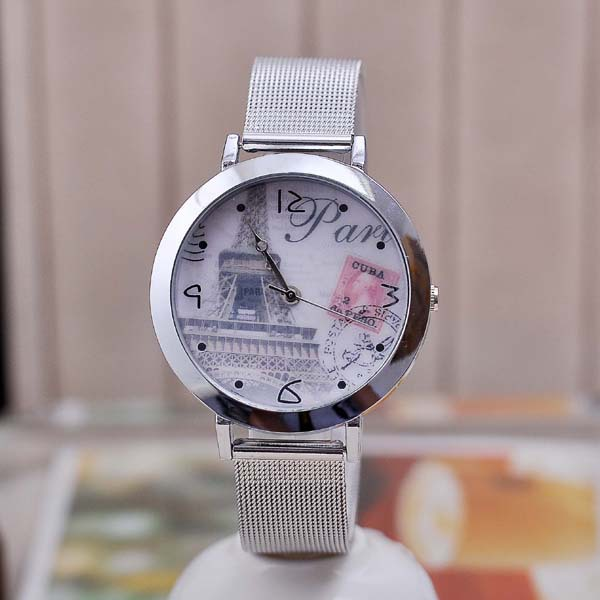 Wholesale Cheapest Ladies Stainless Steel Hand Clock