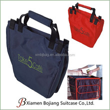 Reusable Large Polyester Grocery Cart Shopping Tote bag