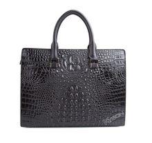 Brand genuine crocodile skin tote bag handbag