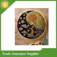 Sun and Moon Yin Yang Metal Wall Art Wholesale Decor