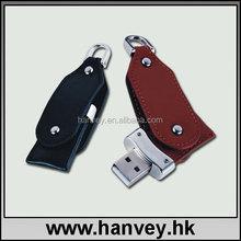 1gb usb 2.0 drive leather usb flash drive