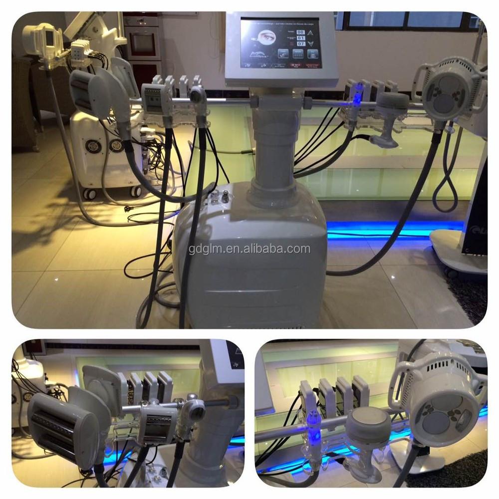 B-022 Velashape + V9 V10 Velashape 3 + cavitação + RF + rolo vazio + BIO + slimming a máquina a Laser