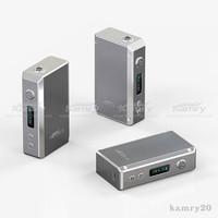 100w vape mod kamry100 box vape mods 100Watt mechanical digital electronic cigarette 7w~100w fit 2pcs 18650 battery
