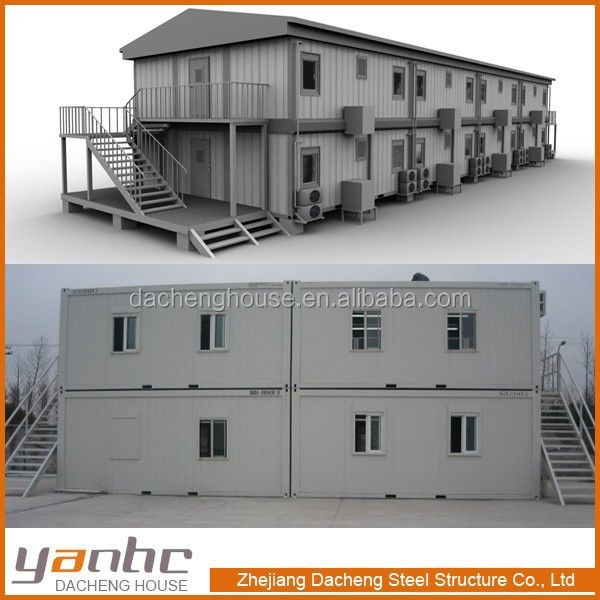 Combined Container House Buildings For Dormitory School Office hotel motel