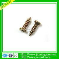 Countersunk Cross Head Chipboard Screws High Quality self tapped screws