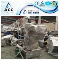 PE PP Material Pelletizing Machine for Plastic Recycling Line