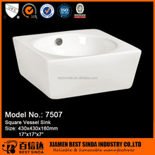 Bathroom designed small size sink bowls