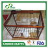 100% pure Bamboo Pet Cages for dogs ( HS Code4421909090) factory price