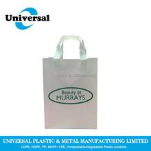 Thick Disposable Plastic Softloop handle bag