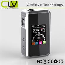 smy60 bell cap 60W VV VW temp control box mod no gas electronic cigarette lighter
