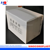 pollution-free and not rot plastic pp aging resistance crate