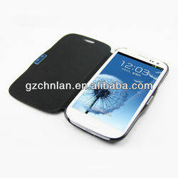 2013 New latest flip cover case for samsung i9300 galaxy s3 case