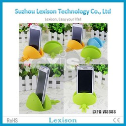 Wholesale cute silicone desktop phone holder for cellphone