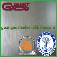 Chinese well-reputed manufacturer ss 202 stainless steel sheet affordable price
