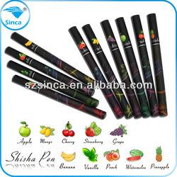 2015 hot selling products sinca electronic cigarette china shenzhen factory wholesale shisha disposable