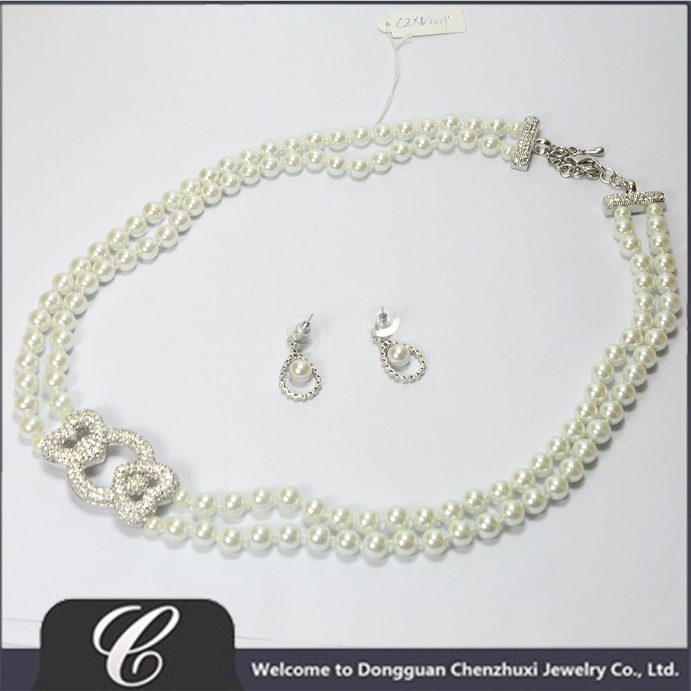 two strand knotted necklace and earring set flat 2.jpg