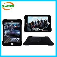 Anti-shock Plastic+Silicone Protective Case for iPad Mini 1/2/3