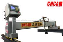 cnc pórtico de gas de plasma de corte automático de la máquina