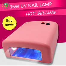 36W Nail Art UV Lamp Light Dryer 4 X 9W Salon Gel Curing