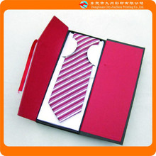 Wholesale high grade famous brand necktie red gift packaging box