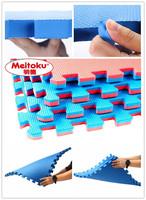 Red color leaf texture taekwondo material judo puzzle mat