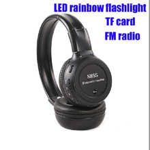 N85sTop selling products mini wireless FM radio bluetooth headset with mp3 player / TF card