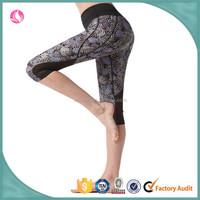 2015 women wholesale yoga pants, women's yoya tights pants, custom printing sweatpants