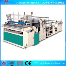 Toilet roll processing equipments tissue paper making machine