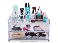 acrylic makeup organizer clear box cosmetic cases