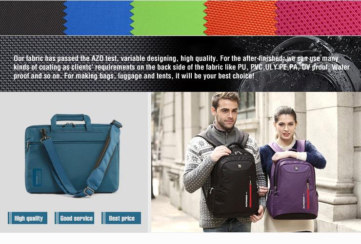 150D,190D,300D,420D,600D,900D,1000D,1680D oxford fabric manufacturer/100% polyester fabric