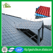soundproof insulation easy install cheap plastic black slate roof tiles