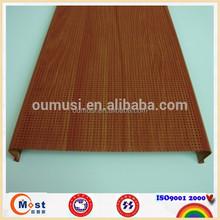 Hot sale & high quality aluminium ceiling panel, metal liner roof ceiling, C shape ceiling