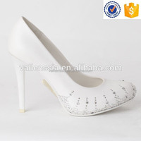 2015 Hot Sale High Quality High Heel Crystal Lady wedding Shoes, Elegant Lady Wedding Shoes