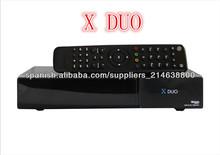 Linux Based DVB-S2 receptor satelital HD X DUO sintonizador gemelo receptor X DUO HD Decodificador