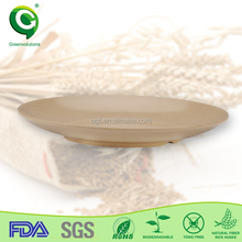 eco friendly bamboo german dinner plates wholesale