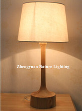 decorative modern wood table lamp home decor lamp
