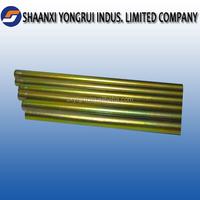 Plating copper,zinc,PVF polish ATV steel tube