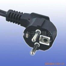 Europe vde standard power cord plug