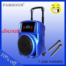 hot blue light active speaker ipod dock