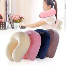 New design gel memory foam traveling folding neck pillow