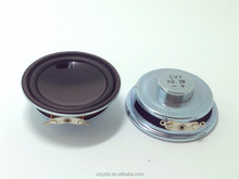 50mm 2w 4ohm Fo-10KHz Mylar cone speaker for multimedia