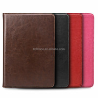 oem design genuine leather for ipad air 2 leather case