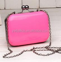 High quality lady evening bag, cosmetic bag