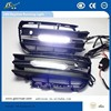 Flexible LED DRL advertisement of new electronic products For VW Toureg 2011-2015 daytime running light