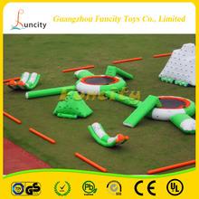 Divertido Juegos de Agua flotante inflable parque acuático para niños y adultos