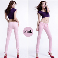 straight tightly coloured sexy skinny hot sell harem pants girl latest jeans coat pant suit cargo pants