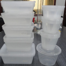 PP Plastic Baby Food Storage The peace of mind even if it puts the food of baby
