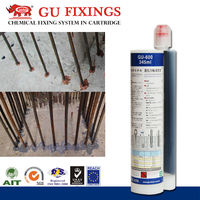 epoxy acrylate resin seal glue for double threaded anchor concrete grout