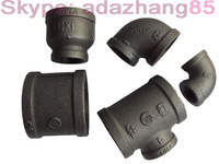 GI Malleable Cast Iron Pipe Fitting for connecting water oil gas pipe fitting factory