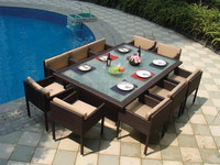 Rattan Wicker Furniture /Outdoor Furniture / Wilson And Fisher Patio Furniture (DH-N9073)